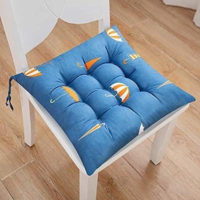 Amazon.com: Cojín redondo suave para asiento de patio, cojín ...