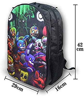 94371b375d FNAF Five Nights at Freddy s Printing Backpack School Bags Teens Kids Boys  Girls Freddy School Bag Womens Mens Laptop Backpacks