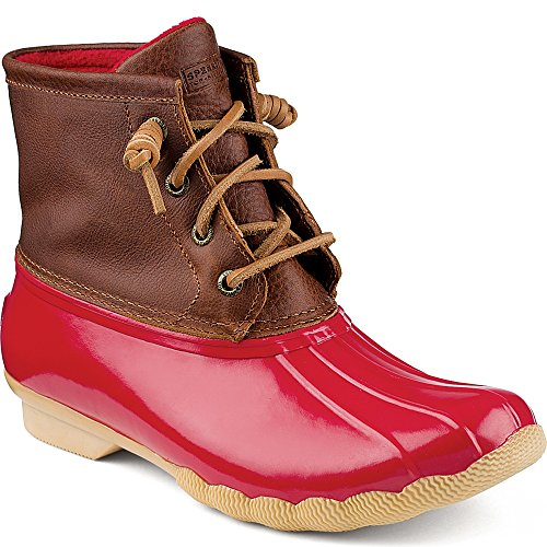 Red Sperry Boot Sperry Women's Women's Saltwater BXW56q57