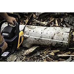 Cut-Rite Chainsaw Firewood Measuring Tool-Accessory, Detachable, Flexible, Stick, Cutting, Mounts directly to bar nut.