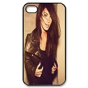 IPhone 4/4s Cases Megan Fox Leather Jacket, Case for Iphone 4 S - [Black] Kaktana
