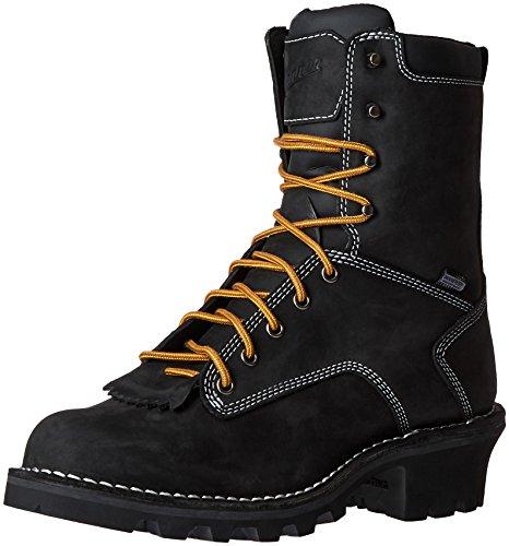 Danner Mens Logger 8 Work Boot Black