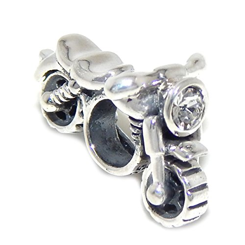 Sterling Silver Motorcycle - 8