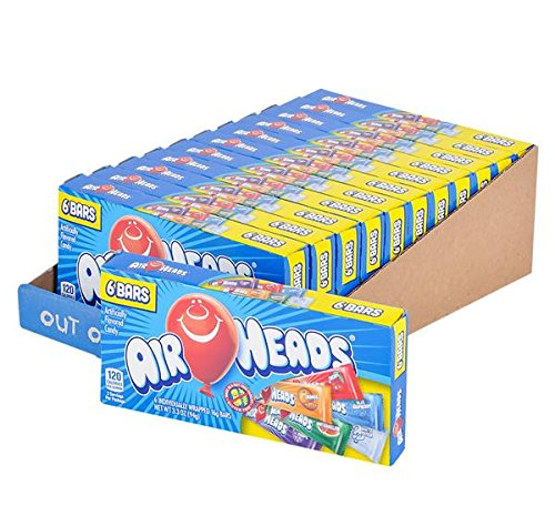 AIRHEADS THEATER BOX CANDY 12PC/CASE, Case of 9