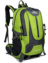 Genold Hiking Backpack with Waterproof Rain Cover 40L Travel Backpack for Outdoor Sports Climbing Camping Mountaineering...