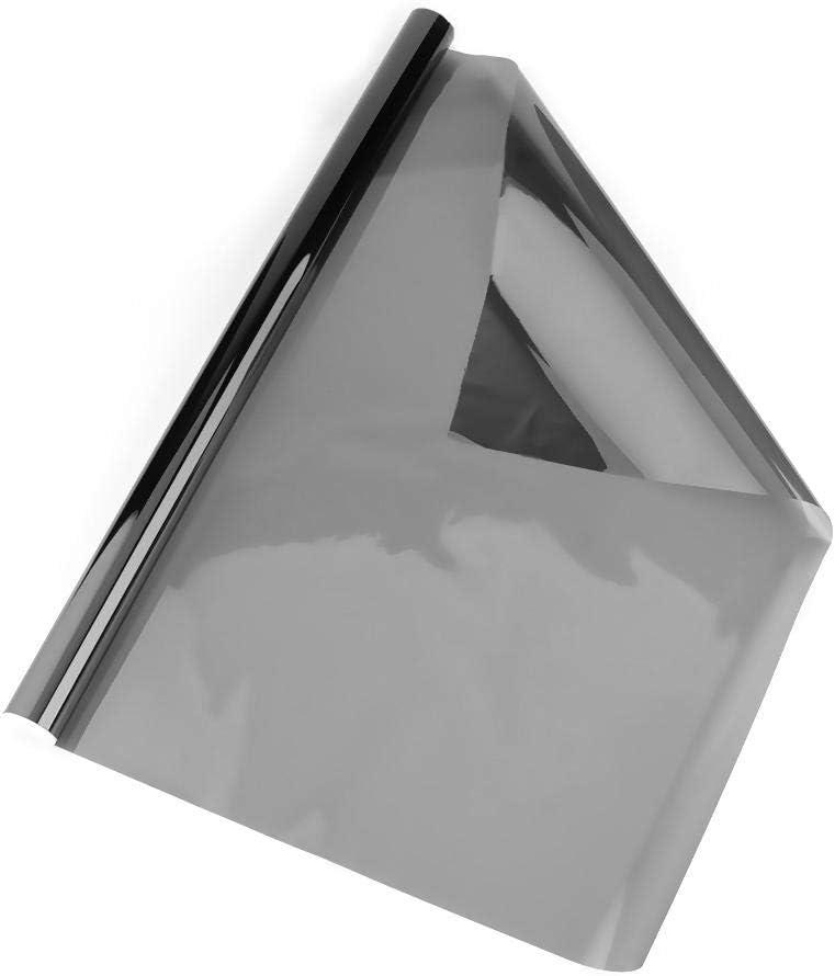 Oficina Everpert Rollo de Vinilo para Ventana de Coche 50/% VLT 5/% 15/% Cristal con rascador 20/% 35/% 6 m x 50 cm 25/% Ventana Color Negro para Coche