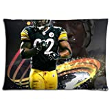 """20x30 20""""x30"""" 50x76cm bench pillow shell cases Polyester Cotton CONSTRUCTION graceful Pittsburgh Steelers"""