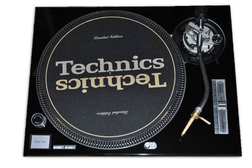 Technics Black Face Plate for Use With Technics SL1200/SL1210 MK2 - Faceplate Turntable