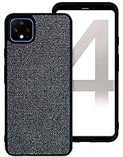 Proze Google Pixel 4 XL Phone Case - Fabric Finish Hard TPU Case for Pixel 4XL
