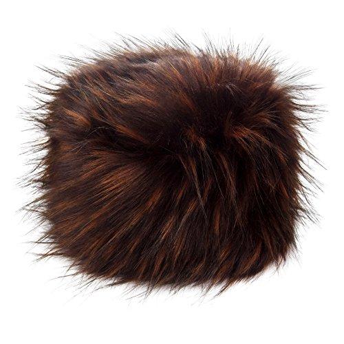 1f5aa202657 Futrzane Women s Russian Cossack Faux Fur Hat for Winter
