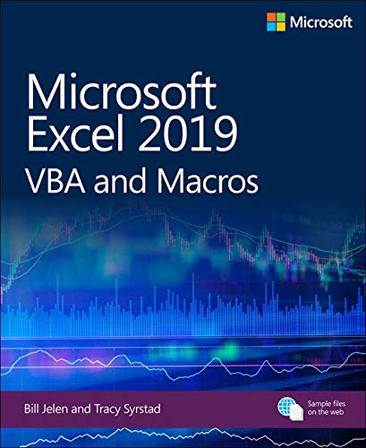 Microsoft Excel 2019 VBA and Macros Front Cover