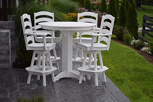Prime Amazon Com Al Furniture Amish Made Poly Outdoor Dining Set Download Free Architecture Designs Grimeyleaguecom