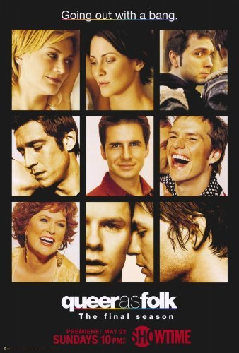 Queer As Folk Poster Movie 2000 Style D