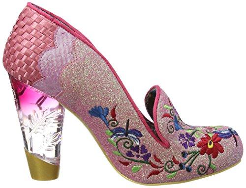 Irregular Choice April Showers - Tacones Mujer Rosa (Pink)