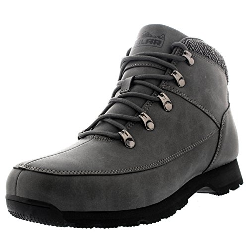 polar-mens-mountain-rambling-hiker-waterproof-trail-outdoor-walking-tweed-collar-ankle-boot-gray-us8
