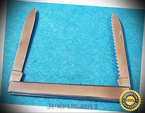 Steel Harvest Fruit Knife 210960 melon tester/belt sheath 4 5/8'' closed - Knife for Bushcraft EMT EDC Camping Hunting