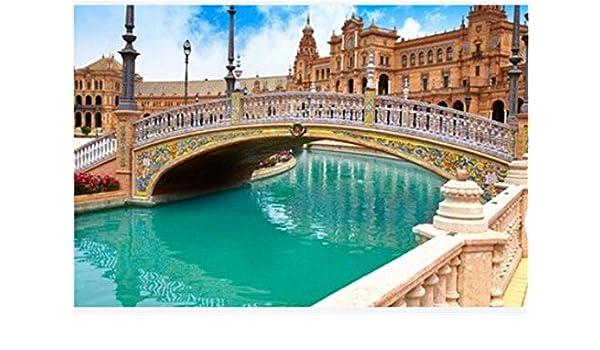 ZZXSY Puzzle 1000 Piezas Educa Sevilla Sevilla Plaza De España ...