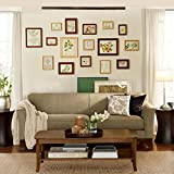 Photo frame wall Solid wood photo wall Nordic creative combination of Japanese natural wood photo wall Photo Wall