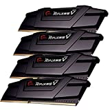 G.SKILL 32GB (4 x 8GB) Ripjaws V Series DDR4 PC4-28800 3600MHZ For Intel Z170 Platform 288-Pin Desktop Memory Model F4-3600C17Q-32GVK