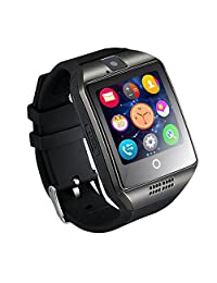 Smart Watch Q18 2017 Android Sim Card Smartwatch Phone Camera for IOS Android Wear Wach for Men Sweatproof Smart Watch Phone