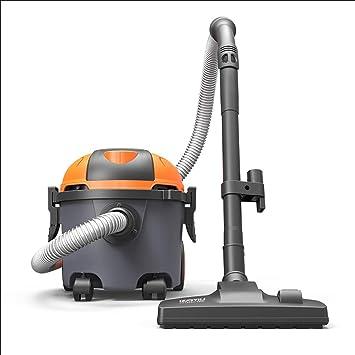 Vacuum cleaner Aspirador de Barril Ajustable de Fuerte succión, Aspirador en Bolsa de Doble Uso, Mojado/seco, con Interruptor de Pedal y 4 Ruedas (Tamaño : Luxury): Amazon.es: Bricolaje y herramientas