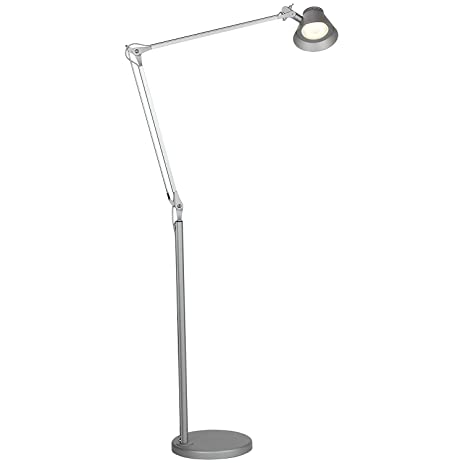 Brightech Contour LED Reading Floor Lamp - Super Bright LED's ...