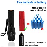 Flashlight-LEDKEKU-NEW-1000-Lumen-Handheld-Cree-XML-T6-Water-Resistant-Camping-Torch-Adjustable-Focus-Zoom-Tactical-Light-Lamp-for-Outdoor-Sports