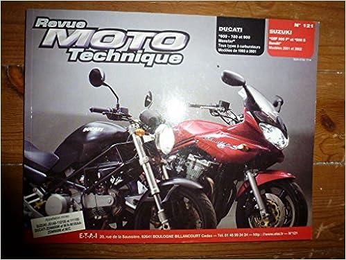 Ebooks téléchargement gratuit pdf RRMT0121.1 REVUE TECHNIQUE MOTO - DUCATI 600,750,900 MONSTER - SUZUKI GSF600F, 600S BANDIT B00HKSVKJA MOBI