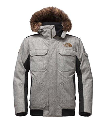 (The North Face Men's Gotham Jacket III Monument Grey Herringbone/TNF Black Dobby XXX-Large)