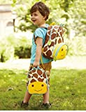 Skip Hop Zoo Toddler Kids Insulated Backpack Jules Giraffe, 12-inches, Multicolored