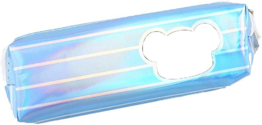 XT- Estuche for lápices 2 Piezas Estuche for lápices de linóleo Estuche for lápices Simple Estuche for lápices extraíble a presión for Estudiantes 18.5cm * 5.5cm * 4cm (Color : Light Blue): Amazon.es: Electrónica
