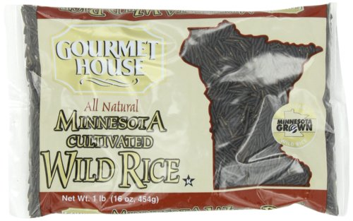 Gourmet House Wild Rice, 16-Ounce (Pack of - Wild Minnesota Rice