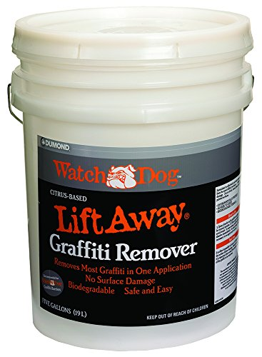 Soy Based Paint - Dumond Chemicals, Inc. 8205 Watch Dog Lift Away Soy-Based Smooth Surface Graffiti Remover, 5 Gallon