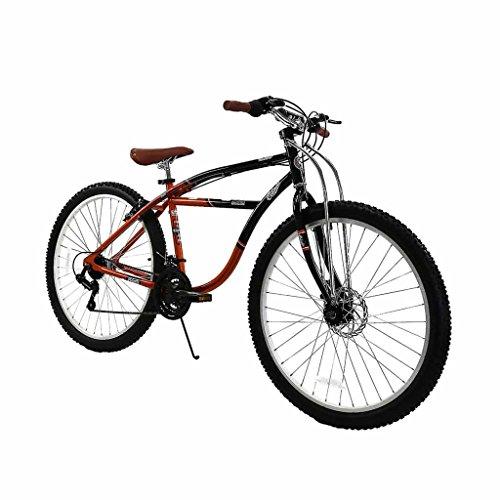 Spratly Brands 27.5 Columbia Klunker Mountain Bike - Black/Red/Brown by Spratly Brands (Image #5)