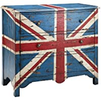 Madison Park FPF17-0036 Artisan British flag Accent Chest