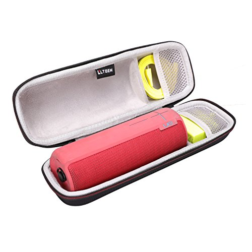 (LTGEM Case for Ultimate Ears UE Boom 2 / UE Boom 1 Wireless Bluetooth Portable Speaker. Fits USB Cable and Wall Charger)