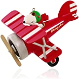 Hallmark Keepsake Ornament: Peanuts Flying Ace Snoopy's Red Plane