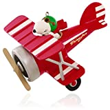 Hallmark Keepsake Ornament: Peanuts Flying Ace Snoopy's Red Plane
