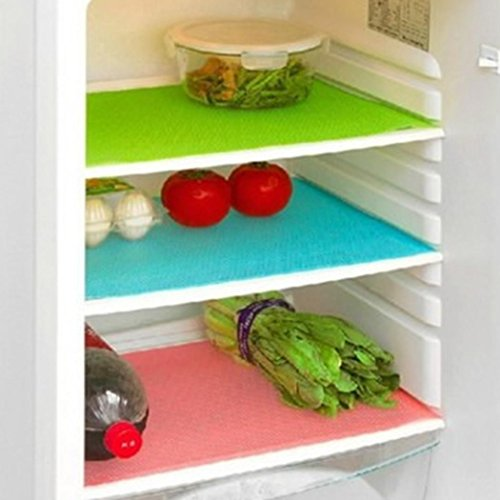 Vividy New Home Kitchen Fridge Antibacterial Antifouling Mildew Moisture Absorption Pad Refrigerator Ma Chin Strips