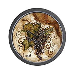 CafePress - Best Seller Grape Wall Clock - Unique Decorative 10 Wall Clock