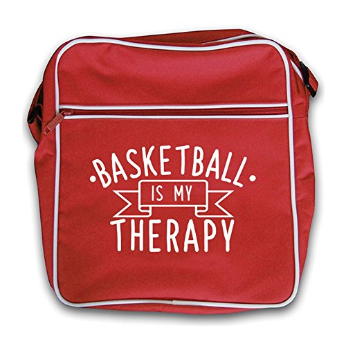 Black Therapy Is Bag My Is Black Therapy Red Flight Red Retro My Retro Basketball Bag Basketball Flight qdIwXAI