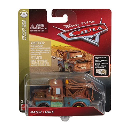 Disney Pixar Cars Die-cast Mater with Accessory Card Vehicle