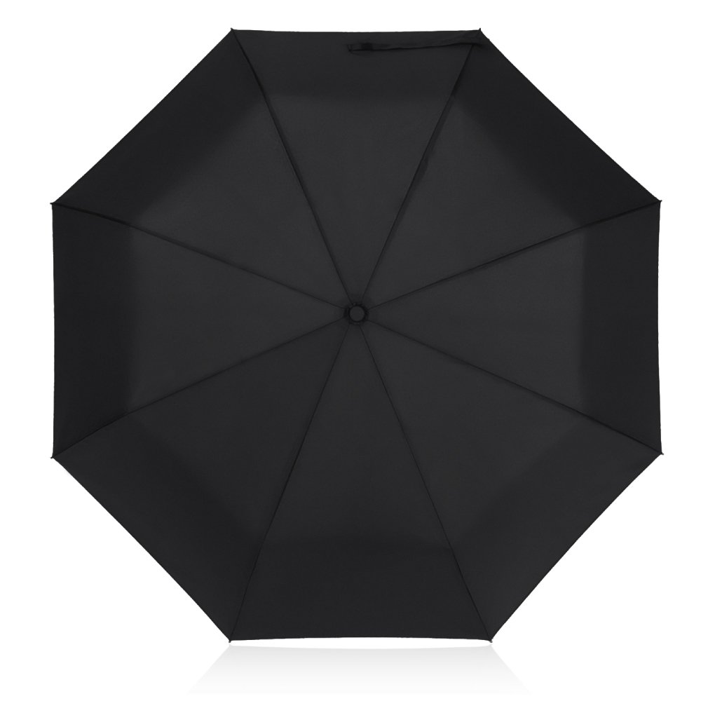 Plemo Classic Folding Umbrella for Business Travel Home, Auto Open Close Windproof, 210T Fabric Quick Dry, Black by Plemo (Image #8)