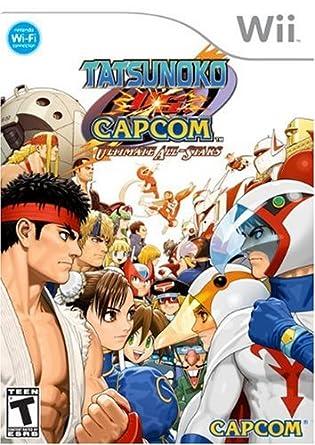 Amazon.com: Tatsunoko vs. Capcom: Ultimate All-Stars ...