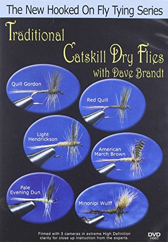Traditional Catskill Dry Flies