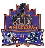 NFL Seattle Seahawks vs New England Patriots Head to Head Pin, 1.5 x 1.5-Inch, Purple