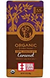 Equal Exchange Organic Dark Chocolate Caramel crunch with sea salt 2.8 oz