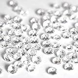 5000 petits cristaux en forme de diamants pour les décoration de table - Haute qualité - Pour 6 à 8 tables