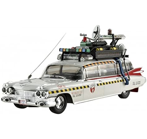 Classic Ghostbusters Ecto-1 and Ecto-1A Die-Cast Vehicle 2-pack Hot Wheels