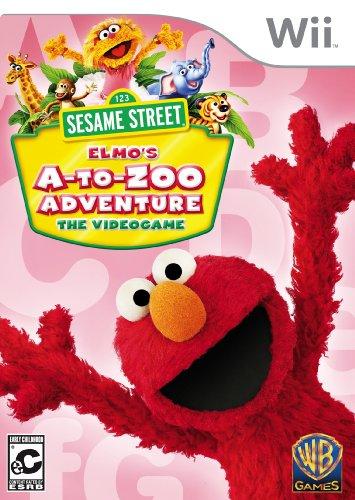 - Sesame Street: Elmo's A-to-Zoo Adventure (Nintendo Wii)